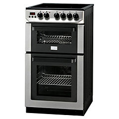 Zanussi ZCV563DX 50cm Stainless Steel Electric Cooker