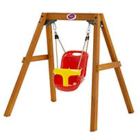 Plum Wooden Baby Swing