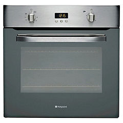 Hotpoint SHS33X Integrated Stainless Steel Electric Single Fan Oven