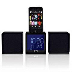 Gear 4 CRG-70W iPod Dock Clock Radio