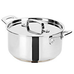 Jamie Oliver Stainless Steel Copper Heart 24cm Stewing Pot & Lid