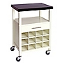 Cayman Kitchen Trolley with Granite Top