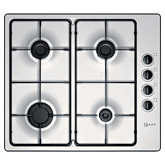 Neff T21S31N1 Integrated Stainless Steel Gas Hob