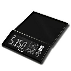 Salter Maxview Kitchen Scale Black
