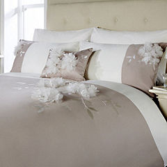 Home Collection Chiffon Flower Bed Linen Set