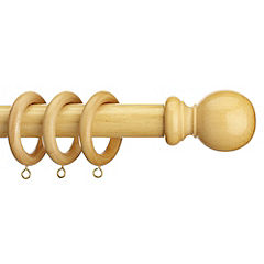 Homestyle Kingswood Natural Curtain Pole