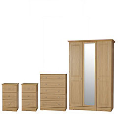 Dorset 3-door Wardrobe Package