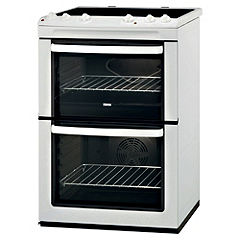 Zanussi ZCV621MW 60CM White Electric Cooker