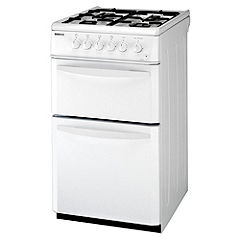 Beko DG581NWP White Gas Cooker