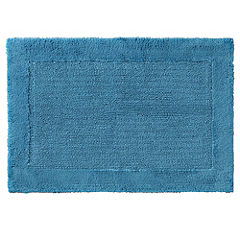 Home Collection Turquoise Deep Pile Bath Mat