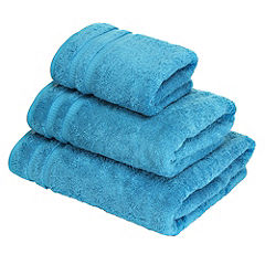 Home Collection Turquoise Egyptian Cotton Towel