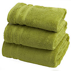 Home Collection Zesty Lime Egyptian Cotton Towel
