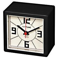 Tu Black Retro Mantel Clock