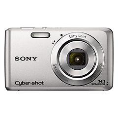 Sony Cyber-shot W520 14.1 Megapixel Silver Digital Camera