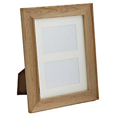 Tu Solid Oak Frame with 2 Apertures