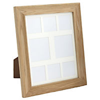 Tu Solid Oak Large Frame with 8 Apertures