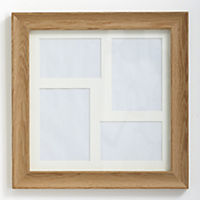Tu Solid Oak Frame with 4 Apertures