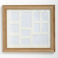 Tu Solid Oak Frame with 11 Apertures