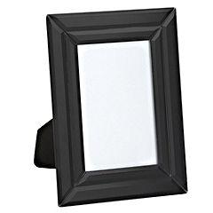 Tu Black Double Bevelled Glass Frame 4x6cm