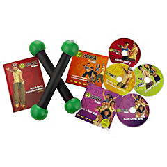 As Seen on TV Zumba Total Body Transformation System DVD Set