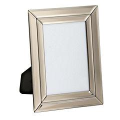 Tu Mink Double Bevelled Mirrored Frame 8x10cm