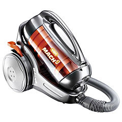 Vax C90-M1-B Mach 1 Graphite and Orange Multi-cyclonic Vacuum Cleaner