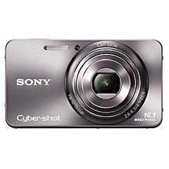 Sony Cyber-shot W570 16.1 Megapixel Silver Digital Camera