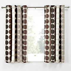 Tu Chenille Spot Natural Curtains