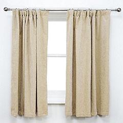 Tu Plain Natural Chenille Curtains