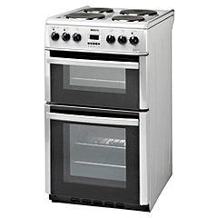 Beko DV555AS 50cm Silver Electric Cooker