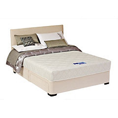 Silentnight Amy Natural 2-drawer Storage Bed with Headboard
