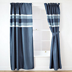 Tu Teal Panel Pencil Pleat Curtains