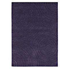 Tu Purple Circles Rug