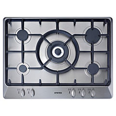 Stoves SGH700C Stainless Steel Gas Hob