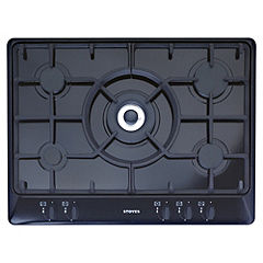 Stoves SGH700C Black Gas Hob