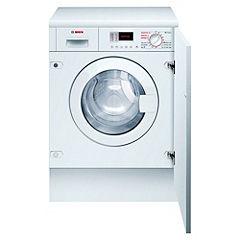 Bosch WKD28350GB White Integrated Washer Dryer