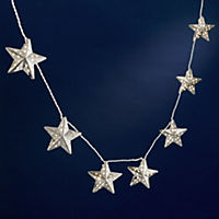 Tu Silver Star String Lights