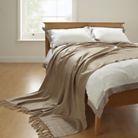 Home Collection Mink Mohair Look Throw