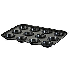 Cook's Collection 12-cup Shallow Bun Tray