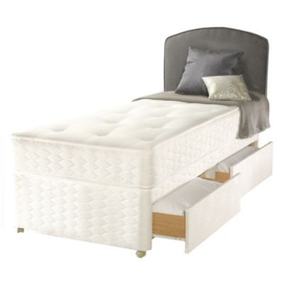 Sealy Simply Medium 4-drawer Storage Divan Bed - image 2
