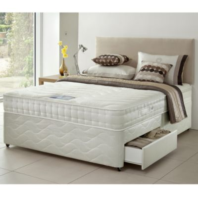 Perfecta Pocket Memory Foam Non-storage Divan Bed - image 1