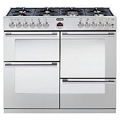 Stoves R1000DFT Stainless Steel Dual Fuel Range Cooker