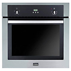 Stoves SEB600FP Stainless Steel Integrated Electric Single Fan Oven