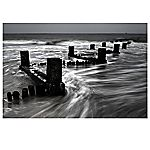 Sea Breakers Canvas Art Print 57x77cm