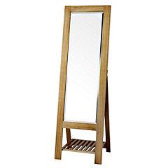 Gallery Bergen Wood Cheval Mirror