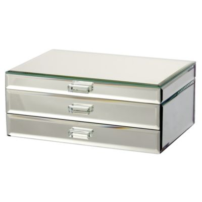 Tu Large Plain Mirror Jewellery Box - image 1