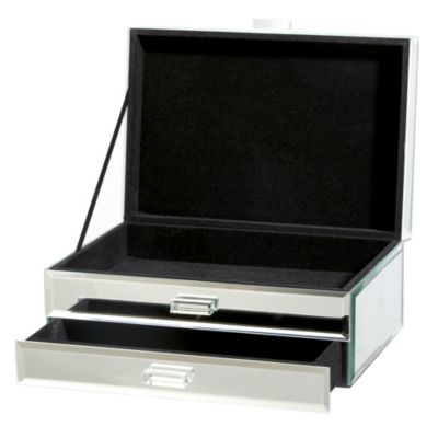 Tu Large Plain Mirror Jewellery Box - image 2