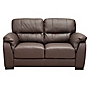 Palma Regular Chocolate Leather Sofa