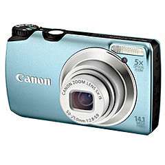 Canon Aqua PowerShot A3200 IS 14.1 Megapixel Digital Camera
