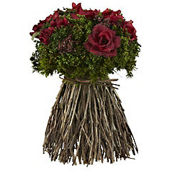 Tu Freestanding Red Rose Bouquet